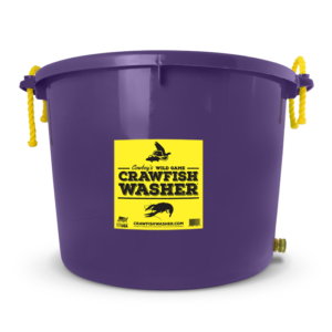 Purple Crawfish Washer