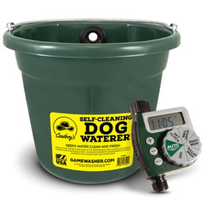 Self-Cleaning Waterer with Timer