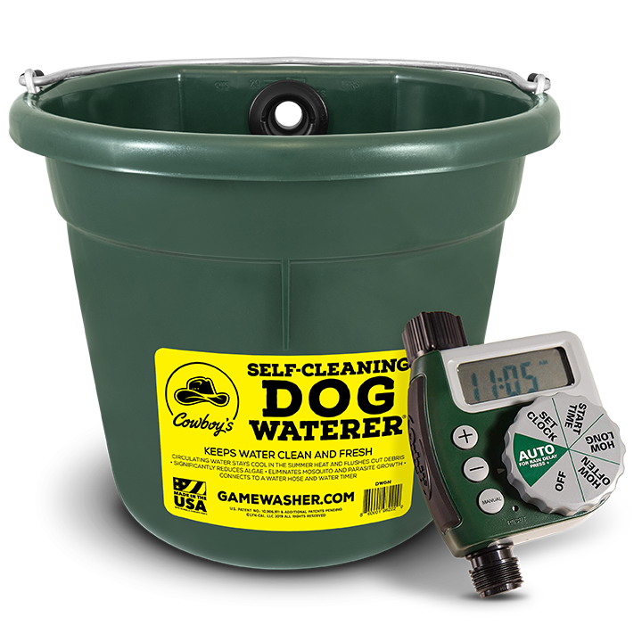 Self-Cleaning Waterer
