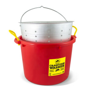 Combo Deal – Crawfish Washer and Aluminum Strainer