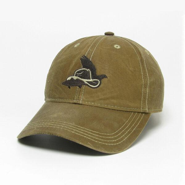 Dark Tan Waxed Cotton Hat