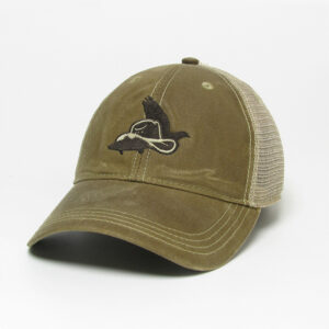Dark Tan Khaki Trucker Hat